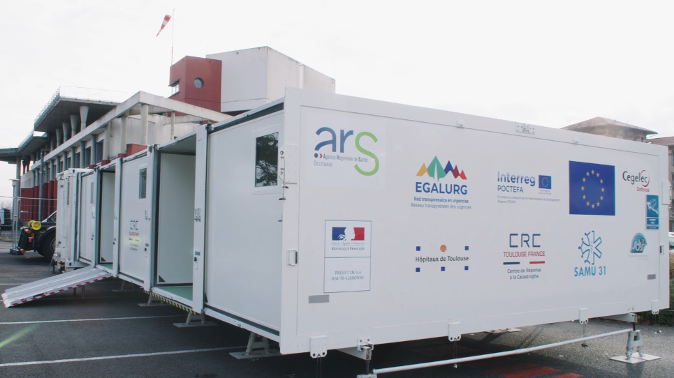 EGALURG facilitates the construction and deployment of the UMPEO, an innovative installation for emergency healthcare in trans-pyrenaic regions